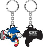 Sega Sonic Rubberen Sleutelhanger