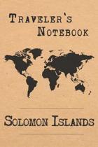 Traveler's Notebook Solomon Islands