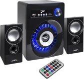 Bluetooth 2.1 Audiocore AC910 luidspreker FM-radio, TF-kaartingang, AUX, USB-voeding