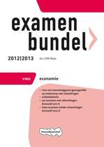 Examenbundel VWO economie  - 2012/2013