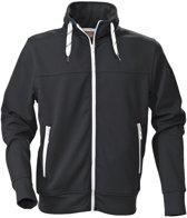 Printer Jog Sporty Sweatshirt Black XL
