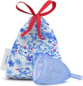 LadyCup Menstruatiecup blue - Maat L
