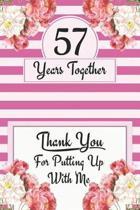 57th Anniversary Journal