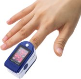 Digitale vingertop Pulse Oximeter Saturatiemeter I Blauw