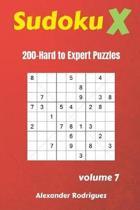 Sudoku X Puzzles - 200 Hard to Expert 9x9 Vol.7