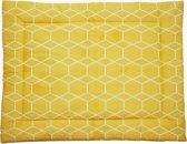 Briljant Baby boxkleed - 80x100 cm grid ochre