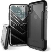 X-Doria Defense Clear Hoesje Apple iPhone XS / X Zwart