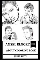 Ansel Elgort Adult Coloring Book