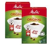 Melitta Koffiefilters Original maat 102 - 200 filters (2x100)