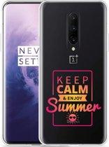 OnePlus 7 Pro Hoesje Summer Time