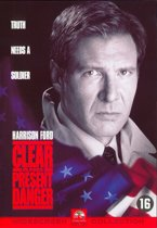 DVD cover van Clear and Present Danger
