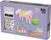 Plus-Plus Mini Pastel 3-in-1, 480 stuks - Constructie blokken