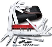 Victorinox SwissTool Spirit Plus Multitool - 38 Functies - Nylon Etui