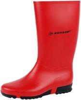 Dunlop K231011.HA Rood Sportlaarzen PVC maat 34