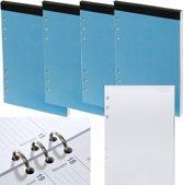 Kalpa 6200-04 A5 notitieblok - 4 stuks Bullet Journal voor A5 organizer
