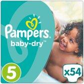 Pampers Baby Dry Maat 5 (Junior) 11-23 kg - 54 stuks - Luiers