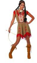 Indianen jurk Minnehaha voor dame