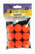 Leif Plopper ballen oranje - 9 stuks