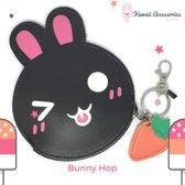 Bunny Hop - Portemonnee Sleutelhanger Tashanger