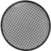 HQ Power 15'' black metal speaker grille Metaal Zwart speaker steun