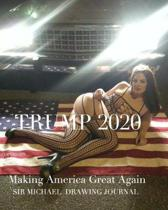 All American Girl Making America Great Again Trump 2020