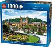 Puzzel San Sebastian Spanje 1000 stukjes