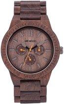 WeWOOD KAPPA Chocolate  - Horloge - Bruin - 41 mm