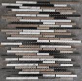 Mozaiek tegel aluminium staven