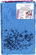 American Crafts - Hello Dreamer Blue & Pink Sequins notebook - 60 pagina's