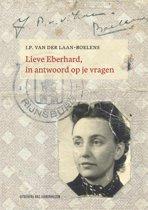 Boekomslag van 'Lieve Eberhard, in antwoord op je vragen'