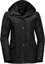Jack Wolfskin Park Avenue Jacket Dames Outdoorjas - Black - Maat M