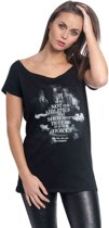 Harry Potter Dames Tshirt -5XL- Choices Zwart