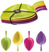 Zak!Designs Fulla Blaadje - 13 cm - Flora - Set van 4 stuks