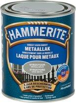 Hammerite Structuurmat Lak Grijs 750 ML