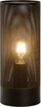 Lucide BELI - Tafellamp - Ø 12 cm - E27 - Zwart