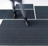 Chilewich runner 61x183cm Skinny Stripe blue