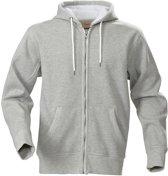 Printer Hoop Hoody Sweatjacket Greymel XL