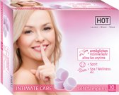 Hot 10 Tampons Soft Intimate Care