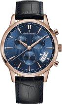 Claude bernard classic chronograph 01002 37R BUIR Mannen Quartz horloge