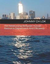 The Relationship Between Human Resource Department and Efficiency