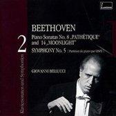 Beethoven: Piano Sonatas Nos. 8 & 14; Symphony No. 5