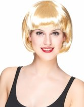 Korte blonde damespruik - Verkleedpruik - One size