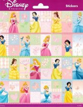 Disney Princess Stickers Rechthoek