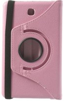 Xssive Tablet Hoes - Case - Cover 360° draaibaar voor Samsung Galaxy Tab 4 7 inch T230 Soft Pink Licht Roze