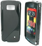 Image of Silicon Case voor Nokia 700 -S-Line Black (8719321014130)