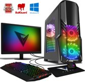 Killstreak SA4-201 PC - 3.9GHz AMD 2-Core CPU, Desktop PC met 22
