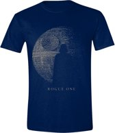 Star Wars - Rogue One Vader Shadow T-Shirt - Blauw - S