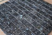 Mozaiek tegel Blue Pearl graniet