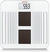 Soehnle 63341 Solar Star Weiß Solar-Personenwaage