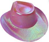 Lg-imports Cowboyhoed Glans Unisex One Size Roze
